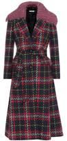 Miu Miu Plaid virgin wool coat
