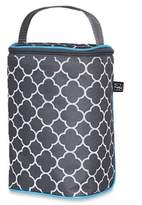 J L Childress Tall TwoCOOLTM Insulated 2-Bottle Cooler in Grey Clover