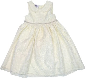 Happy Kids Toddler Girl's Lace Overlay Dress