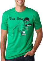 Crazy Dog T-shirts Crazy Dog Tshirts The Tea Rex T-Shirt Funny Graphic Dinosaur Gentlemen Monocle Tee