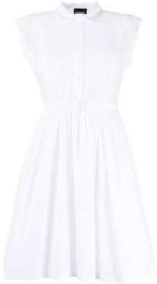 Ermanno Ermanno Sleeveless Shirt Dress