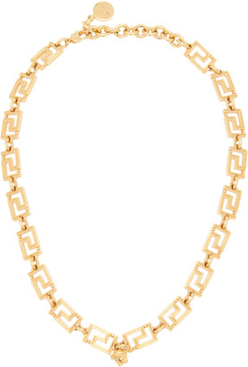 Versace Grecamania Gold-Plated Necklace