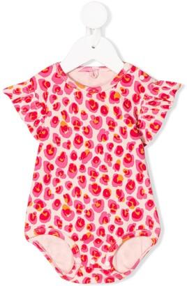Stella Mccartney Kids Leopard-Print Organic-Cotton Body