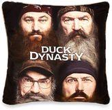 "Duck Dynasty® ""Four Faces"" Decorative Pillow"