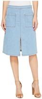 Splendid Indigo Patch Pocket Skirt Women's Skirt