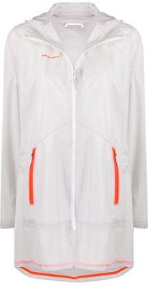 Mammut Hooded Contrast Pockets Jacket