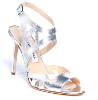 Alexis Isabel Scintilla Silver High Heel Sandals