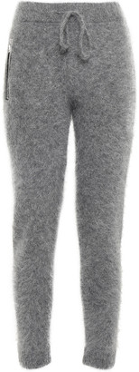 RtA Mohair And Wool-blend Track Pants