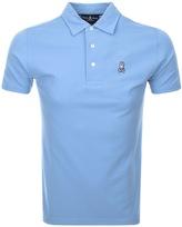 Psycho Bunny Short Sleeved Polo T Shirt Blue