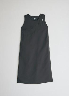 Stussy Women's Pocket Sun Dress in Black, Size Extra Small