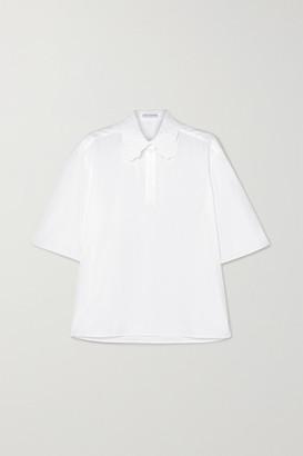Cecilie Bahnsen - Allie Embroidered Cotton-poplin Shirt - White