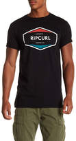 Rip Curl Short Sleeve Graphic Print Relaxed Fit Tee