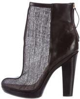 Rachel Zoe Mesh Round-Toe Ankle Boots