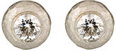 Malcolm Betts Women's Hammered Circular Stud Earrings