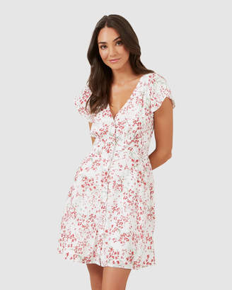 French Connection Floral Tea Dress