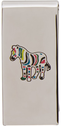 Paul Smith Silver Zebra Money Clip
