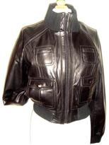 Carter's Knoles & Carter Women's Leather Bomber Jacket