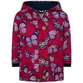 Hatley HatleyGirls Botanical Butterflies Cotton Coated Raincoat