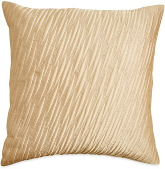 Donna Karan Gold Dust Textured Accent Pillow
