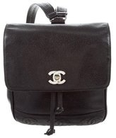 Chanel Caviar CC Backpack