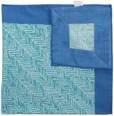 Richard James Rustic Herringbone Pocket Square