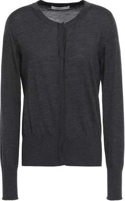 Melange Home Gentryportofino Wool, Silk And Cashmere-blend Cardigan
