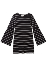 Vince Camuto Two By Striped Flared-sleeve Dress