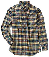 Daniel Cremieux Big & Tall Long-Sleeve Plaid Oxford Woven Shirt