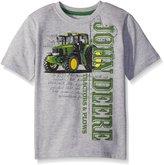 John Deere Toddler Boys Short Sleeve Logo Tee