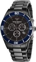 Emporio Armani Men's AR1429 Ceramic Chrnongraph Dial Watch