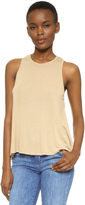 Enza Costa Crepe Jersey Trapeze Tank
