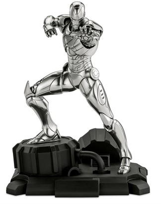 Disney Iron Man Pewter Figurine by Royal Selangor Limited Edition