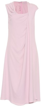 Sies Marjan Sleeveless silk-blend midi dress