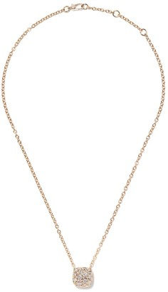 Pomellato 18kt rose gold Nudo diamond pendant necklace