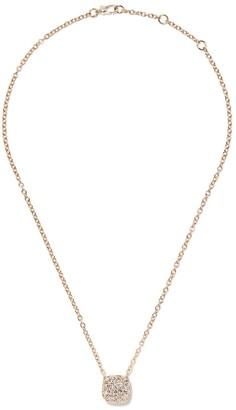 Pomellato 18kt rose gold Nudo diamond pendant necklace