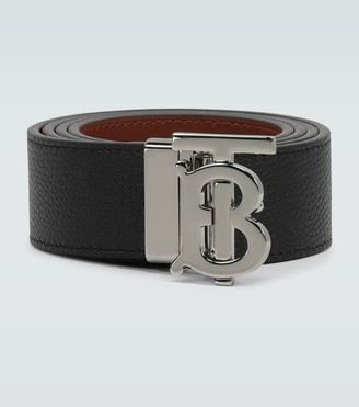 Burberry Logo leather belt