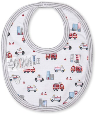 Kissy Kissy City Rescue Print Bib