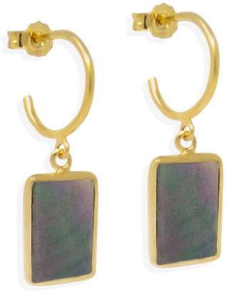 Vintouch Italy Iris Gold-Plated Mini Hoop Earrings