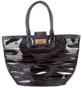 Christian Louboutin Padam Leather PVC Tote