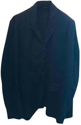 Isabel Benenato Black Linen Jackets