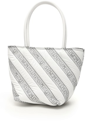 Alexander Wang Quilted Roxy Logo Tote
