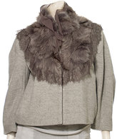 Jacket With Fur Trim