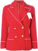 The Gigi - double-breasted blazer - women - Cotton - 40