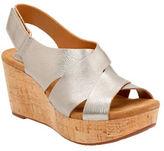 Clarks Caslynn Diem Nubuck Leather Sandals