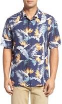 Tommy Bahama Men's Big & Tall Majestic Flora Silk Camp Shirt