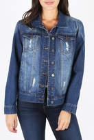 KUT from the Kloth Destructed Denim Jacket