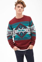Forever 21 Southwestern-Patterned Sweater