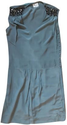 Stella Forest Khaki Silk Dress for Women