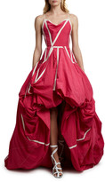 Off-White Off White Couture Parachute Gown