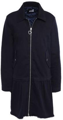 Love Moschino Frayed Denim Coat